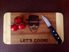 Let's cook cutting board  by DesignsByDagenais on Etsy