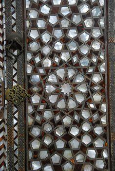 Harem decoration in the Topkapi Palace Istanbul