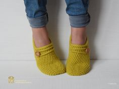 WOMAN SLIPPER SOCKS /Crochet Slippers. Knitted от Exclusive72