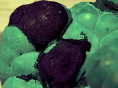 Botryoidal Malachite with Azurite by cobalt123, via Flickr