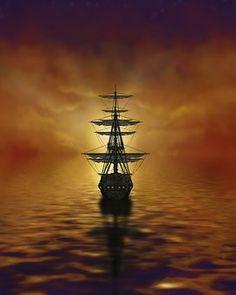 Segelschiffe auf dem meer sonnenuntergang  Sonnenuntergang, Boot Meer, Schiff | Silhouette/BIG MAC ...