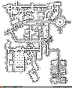 Here we are (once again) finishing off the month with a map of the series creating a massive undercity. The goal is to produce a large set of maps that interconnect to produce something akin to, bu…