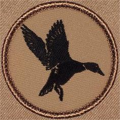 Duck Silhouette Patrol Patch (#633)
