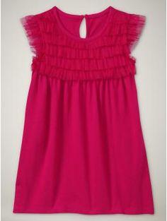 Baby Gap Tulle top dress