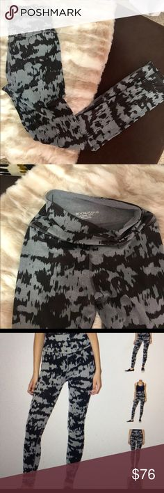 Beyond Yoga High Waist Leggings These leggings are SO fun! High waist and long enough to pull under your heel for barre or yoga class. Comes in fun Shibori tie-dye print. Worn just a handful of times (maybe 3?) and in great condition. Smoke and pet free home! Beyond Yoga Pants Leggings