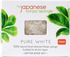 White Konjac Sponge
