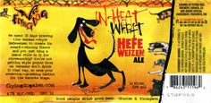 flying dog in heat wheat - hefeweitzen ale. Despite the silly name, it's a really tasty beer. I love it!