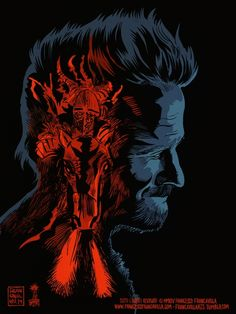 The Fisher King (tribute to Robin Williams) by Francesco Francavilla *