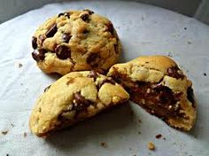 http://www.nytimes.com/recipes/11245/Thick-and-Gooey-Chocolate-Chip-Cookies.html?emc=eta2    To make these even gooier - leave out an egg (like I did accidentally)...