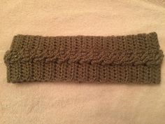 Handmade Crochet Braided Ear Warmer by EverydayCrochet247 on Etsy