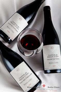 Custom wine bottle photography in Sonoma by Jason Tinacci Photography