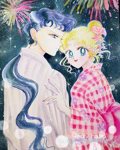summer time#美少女戰士 #美少女戦士セーラームーン #sailormoonfan #武内直子 #美少女战士 #illustration #sailormoonfanart #手绘 #イラスト Sailor Moon Sailor Stars, Sailor Moon Manga, Sailor Moon Crystal, Sailor Moon Outfit, Fanart, Anime Animals, Sailor Scouts, Kawaii Art, Beautiful Drawings