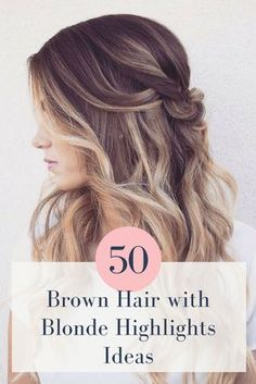 Get your autumn groove on with these 50 brown hair with blonde highlights ideas! #brownhair #blondehighlights #autumnlook #longhairstyles
