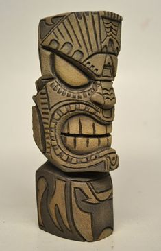 TOYSREVIL: GoD TiKi Carving #6 By Nemo