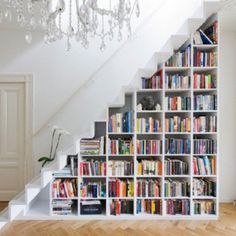 staircase library