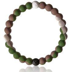 Lokai Bracelet Camouflage Wildlife Size Medium ($12) ❤ liked on Polyvore featuring jewelry, bracelets, bracelet bangle and bracelet jewelry