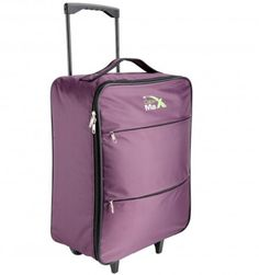 Cabin Max Stockholm Worlds Lightest Cabin Approved Trolley Bag -Ripstop capacity Lightweight Luggage, Cabin Bag, Travel Chic, Trolley Case, Cabin Lighting, Packing Checklist, Hand Luggage, Purple Bags, What To Pack