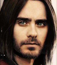 I LOVE YOU JARED LETO! He's like the scruffy rocker version of Zac Efron with even better eyes!