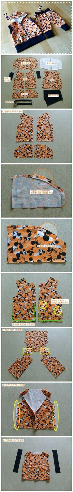 【宝宝马夹卫裤套装——制作教程(马夹篇·步骤图1) 】(转自:http://blog.sina.com.cn/s/blog_b2af51950101d5e7.html)