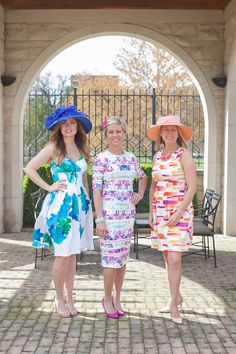 Kentucky Derby looks on Sophisticaited blog by Cait Fore