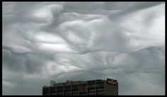 This turbulently undulating cloud photographed over Cedar Rapids Iowa may soon be designated as the first new cloud type named in over 50 years:  Undulus Asperatus.  Source:  Jane Wiggins
