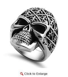 6de8e9448bdea 9 Best Bad ass biker jewelry images in 2013 | Rings, Biker rings, Skull