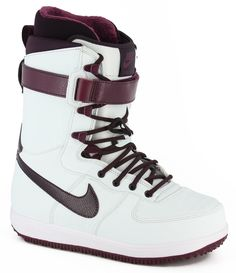 Nike Snowboarding Women's Zoom Force 1 Snowboard Boots - windchill/bordeaux white/port wine