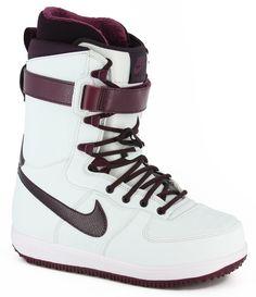 Nike Snowboarding Women's Zoom Force 1 Snowboard Boots - windchill/bordeaux/white/port wine - Snowboard Shop > Snowboard Boots > Women's Snowboard Boots