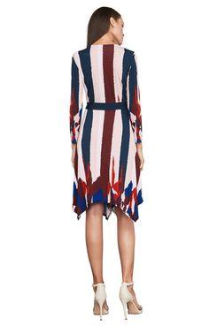 ce1967b3f522e1 Isabella Asymmetrical Wrap Dress Professional Dresses
