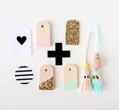 Gold & Pastel Packaging via Inspire Lovely Etsy