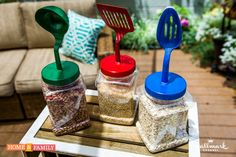 Get funky & customize your own storage jars! #DIY by Daniel Kucan! Catch #Homeandfamily weekdays at 10/9c on Hallmark Channel!