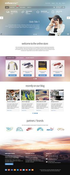 Furniture Store is a fully #responsive #Joomla #shop #template we ...