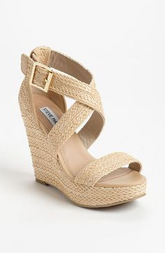 Ready for spring - Steve Madden 'Haywire' Wedge Sandal available at #Nordstrom