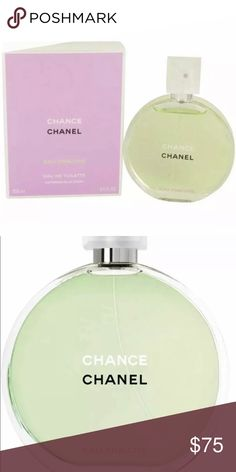 69632577c Chanel Chance Eau Fraiche 3.4 oz NIB/ Sealed Final Price. Chanel Chance Eau  Fraiche