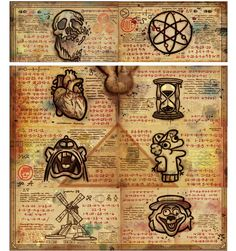gravity falls book 3 pages print - Căutare Google
