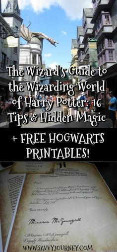 The Wizard's Guide to the Wizarding World of Harry Potter: 16 Tips & Hidden Magic