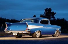 1957 Chevrolet Bel Air Rear View. Diver969