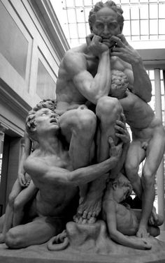Ugolino and His Sons, modeled ca. 1860–61, executed in marble 1865–67 Jean-Baptiste Carpeaux (French, 1827–1875) Saint-Béat marble