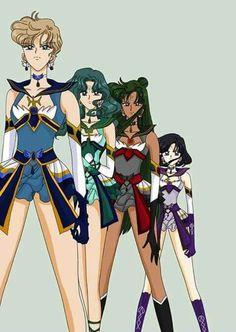 Sailor Moon- Outer Sailor Senshi