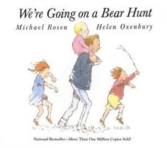 Fishpond Australia, We're Going on a Bear Hunt by Helen Oxenbury (Illustrated ) Michael Rosen. Buy Books online: We're Going on a Bear Hunt, ISBN Helen Oxenbury (Illustrated by) Michael Rosen Chico Yoga, Best Toddler Books, Books To Read, My Books, Music Books, Michael Rosen, Five In A Row, Album Jeunesse, Yoga For Kids
