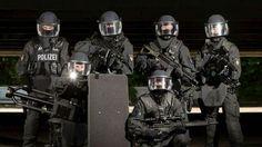 German Police SEK in Brandenburg