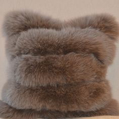 We invite you to our table or we'll meet you at yours. Fur Pillow, Velvet Pillows, Fox Fur, Brown Bear, Old World, Blanket, Luxury, Furs, Animals