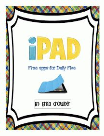 Sprinkles to Kindergarten!: Free iPad apps for Daily 5