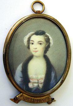 OnlineGalleries.com - A portrait of Lady Hampden
