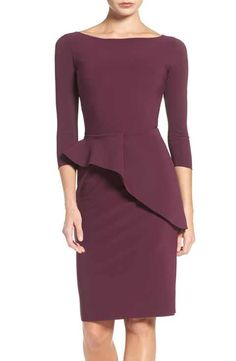 Chiara Boni La Petite Robe Ripley Peplum Jersey Sheah Dress