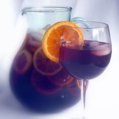 Faux Sangria...Sparkling Iced Tea, alcohol free but all the taste and look of Sangria