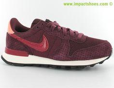 Nike internationalist femme se bordeaux-rouge