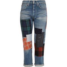 jeans parchados