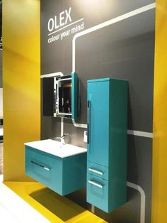 #Olex#stand#bathroom#furniture#IMMCologne#Defra
