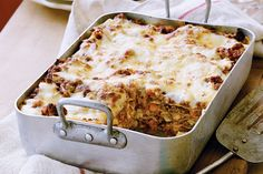 Authentic Italian Lasagne - this is a particularly delicious one, and a 'must-try' for any lover of Italian food!